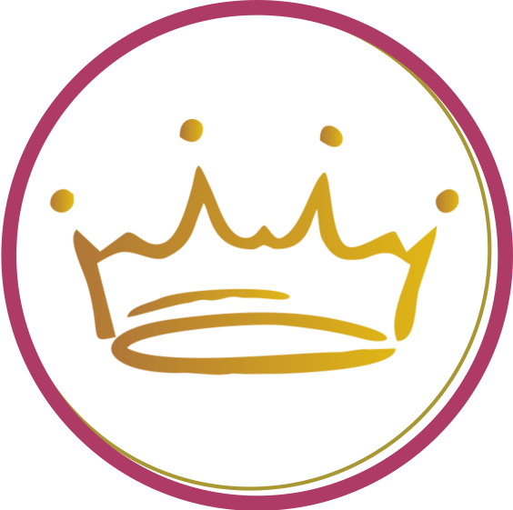 crown in circle